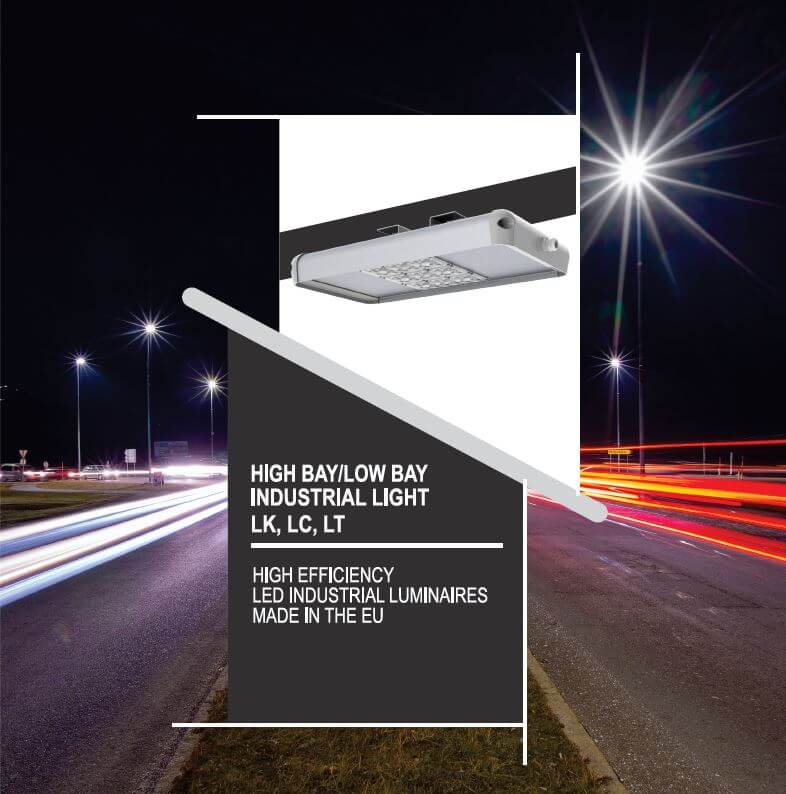 Luxtella LED high bay and low bay industrial lights catalogue