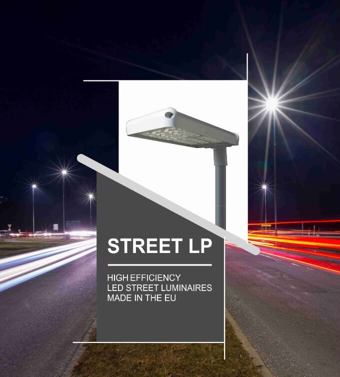 First page of street light catalogue