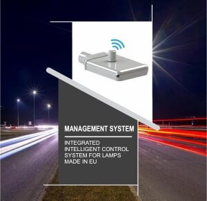 Lighting Management System for street lamps leaflet