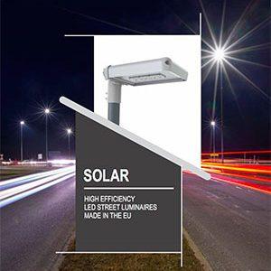 LUXTELLA SOLAR LED street light