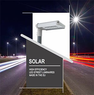 LUXTELLA SOLAR LED street light