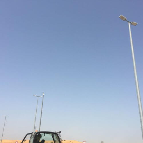 Waste water treatment plant UAE
