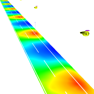 3d photometric simulation of road and street lighting