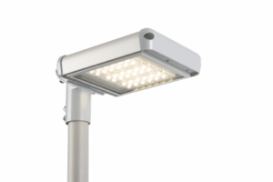 Luxtella LED Street light with glass protection cover