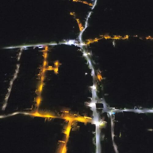 Luxtella LED street light references in Switzerland