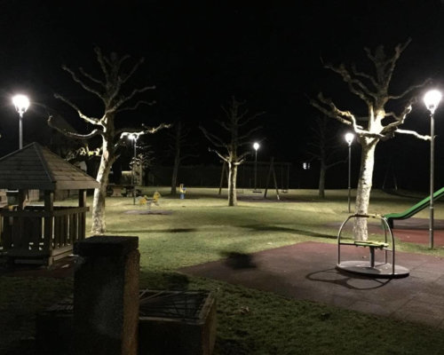 Playground in Switzelrnad with Luxtell aornamental