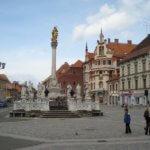 Maribor city main square